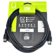 Leem 10ft MIDI Cable (5-Pin MIDI Connector - 5-Pin MIDI Connector)