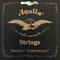 Aquila Carbon Black High-G Soprano Ukulele String Set
