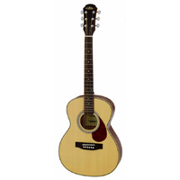 Aria ADF-20 Series Steel String Travel Guitar in Natural