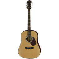Aria ADW-01 Series Dreadnought Acoustic Guitar in Natural Matte Finish