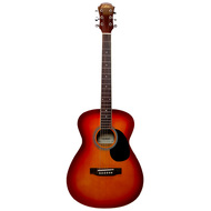 Aria AF-15 Folk Body Acoustic Guitar in Cherry Sunburst