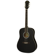 Aria AW-15 Dreadnought Acoustic Guitar in Black