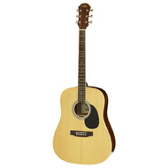 Aria AW-15 Dreadnought Acoustic Guitar in Natural Gloss
