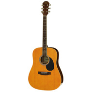 Aria AW-15 Dreadnought Acoustic Guitar in Natural Satin