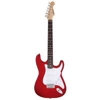 Aria STG-003 Series Electric Guitar in Candy Apple Red