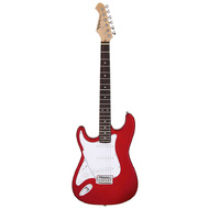 Aria STG-003 Series Left Handed Electric Guitar in Candy Apple Red