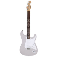 Aria STG-003 Series Electric Guitar in Metallic Silver