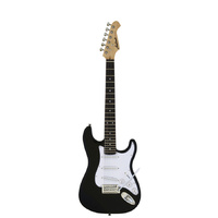Aria STG-MINI Series 3/4 Size Electric Guitar in Black