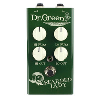 "Ashdown Dr Green ""Bearded Lady"" Bass Fuzz Pedal"