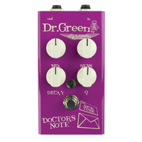 "Ashdown Dr Green ""Doctors Note"" Envelope Filter Pedal For Bass"