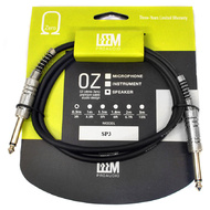 "Leem 3ft Speaker Cable (1/4"" Straight TS - 1/4"" Straight TS)"