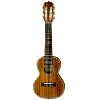 Aria G-Uke Series 6-String Guitalele in Natural Koa Semi-Gloss Finish