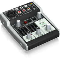 Behringer Xenyx 302USB Premium 5-Input Mixer with USB/Audio Interface