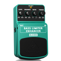 Behringer Bass Limiter Enhancer Effects Pedal