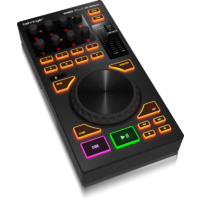"Behringer CMDPL1  Deck-Based MIDI Module DJ Controller with 4"" Touch-Sensitive Platter"