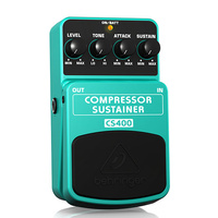 Behringer CS400 Compressor/Sustainer Effects Pedal