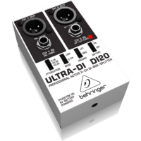 Behringer Ultra-DI20 Professional Active 2-Channel DI-Box/Splitter