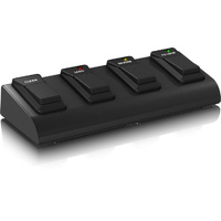 Bugera Heavy-Duty 4-Button Footswitch with Metal Case and Control LEDs