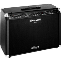 Behringer GMX212 V-Tone True Analog Modeling, 2 X 60W Stereo Guitar Amplifier with FX Processor, Tuner and MIDI Control