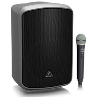 Behringer Europort MPA200BT All-in-One Portable 200W PA System with Wireless Microphone