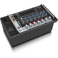Behringer Europower PMP500MP3 Ultra-Compact 8-Channel, 500-Watt Powered Mixer with MP3 Player