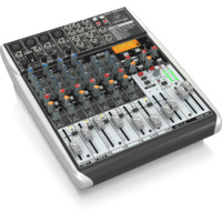 Behringer Xenyx QX1204USB Premium 12-Input, 2/2-Bus Mixer with KLARK TEKNIK Multi-FX Processor & USB/Audio Interface