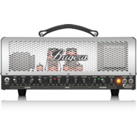 Bugera Cage Style 2-Channel, 50W Tube Guitar Amplifier Head with Reverb