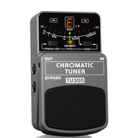 Behringer TU300 Ultimate  Chromatic Guitar & Bass Tuner Pedal