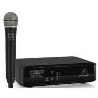 Behringer Ultralink 2.4 GHz Digital Wireless System with Handheld Microphone & Receiver