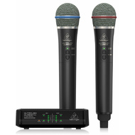 Behringer Ultralink 2.4 GHz Digital Wireless System with Dual Handheld Microphones & Receiver