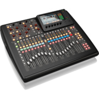 Behringer X32 Compact Digital Mixing Console with 40-Input, 25-Bus, 16 Programmable MIDAS Preamps & iPad/iPhone* Remote Control