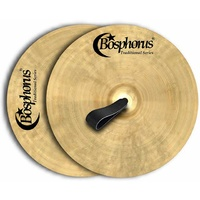 "Bosphorus Orchestral Series 16"" Marching Band Cymbals (Pair)"