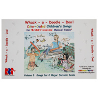 "Boomwhackers ""Whack A Doodle Doo"" Book Only"