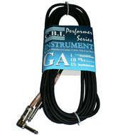C.B.I. Cables GA1B All American Series 20ft Instrument Cable with 1 x Right Angle Jack
