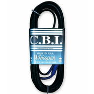 C.B.I. Cables Whissper Series 25ft Instrument Cable