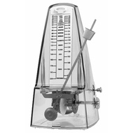 Cherry Metronome with Metal Mechanism & Bell in Transparent Clear Plastic Casing