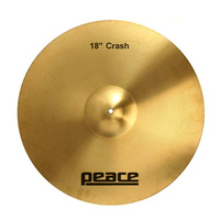 "Peace Student Series 18"" Crash Cymbal"
