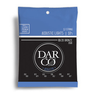 Darco Acoustic 80/20 Bronze Extra Light 12 String Guitar String Set (10-47)