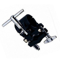 Peace Drum Rack Cymbal Mount Pipe Clamp in Black (Pack 1)