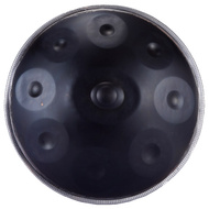 "Opus Percussion 20"" Metal 9-Note Handpan Drum with Carrybag"