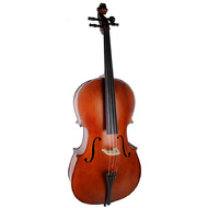 Ernst Keller CB295E Series 4/4 Size Cello Outfit in Antique Semi-Matte Finish