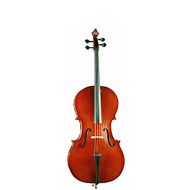 Ernst Keller VC150 Series 1/2 Size Cello Outfit in Semi-Gloss Finish