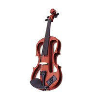 Carlo Giordano EV202 Series 3/4 Size Electric Violin in Natural