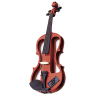 Carlo Giordano EV202 Series 4/4 Size Electric Violin in Natural