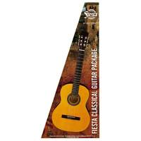 Aria Fiesta 1/2-Size Classical/Nylon String Guitar Pack in Natural