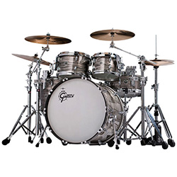 Gretsch Brooklyn USA 5-Pce Drum Kit in Smoke Grey Oyster