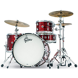 Gretsch Brooklyn USA 4-Pce Drum Kit in Red Oyster