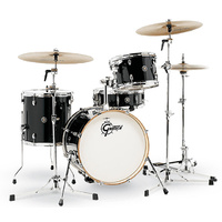 Gretsch Catalina Club Jazz 4-Pce Drum Kit in Piano Black