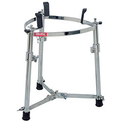 Gibraltar Large Single Conga Stand with Adjustable Height