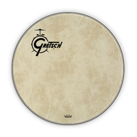 "Gretsch 22"" Fibreskyn Bass Drum Head with Offset Logo"